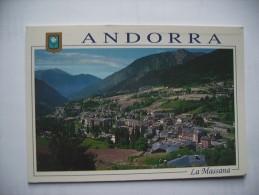 Andorra La Massana  ( With Andorra Stamp ) - Andorra