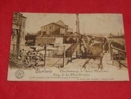 """CHARLEROI -  Charbonnage De """" Sacré Madame """" - Siège De La Blanchisserie  -  1912 -  (2 Scans) - Charleroi"""