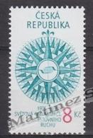 Czech Republic - Tcheque 1995 Yvert 60 20th Ann. Tourism World Organization - MNH - Unused Stamps