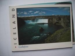 IJsland Iceland Godafoss - IJsland