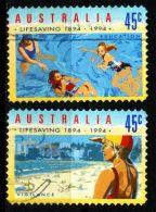 AUSTRALIEN AUSTRALIA [1994] MiNr 1389-90 ( O/used ) Sport