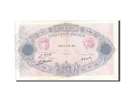 France, 500 Francs, 500 F 1888-1940 ''Bleu Et Rose'', 1922, 1922-05-19, KM:66... - 1871-1952 Anciens Francs Circulés Au XXème