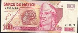 MEXICO P118m  100 PESOS  28.4.2008 Serie EA       VF - Mexico