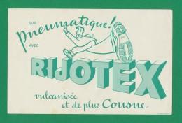 Buvard  -  Pneumatique - RIJOTEX - Vulcanise - Blotters