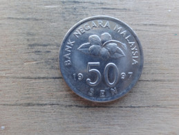 Malaysie  50  Sen  1997  Km 53 - Malaysie