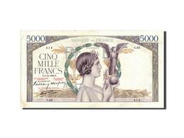 France, 5000 Francs, 5 000 F 1934-1944 ''Victoire'', 1938, 1938-12-08, KM:97a... - 1871-1952 Anciens Francs Circulés Au XXème