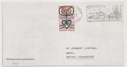 MARLENHEIM Bas Rhin Sur Enveloppe. 1973 - Postmark Collection (Covers)