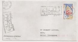 ERSTEIN  Bas Rhin Sur Enveloppe. 1977 - Postmark Collection (Covers)