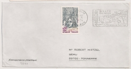 SELTZ Bas Rhin Sur Enveloppe. 1974 - Postmark Collection (Covers)