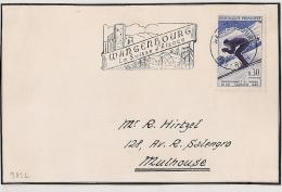 Wissembourg  Bas Rhin Sur Devant D'enveloppe. 1962. - Postmark Collection (Covers)