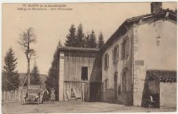 42--MONTS DE LA MADELEINE--REFUGE DE PIERREBELLE-VOIR DECRIPTIF ET SCANNER - Frankrijk