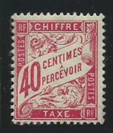 FRANCE: *, TAXE N°35, TB - Taxes