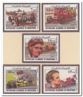 Mauritanië 1982 Imperf., Postfris MNH, Cars, Sport - Mauritanië (1960-...)