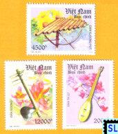 Vietnam Stamps 2013, Traditional Musical Instruments, MNH - Vietnam