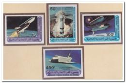 Comoren 1981 Imperf., Postfris MNH, Space - Comoren (1975-...)