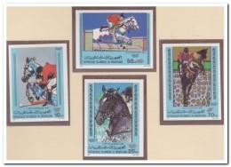 Mauritanië 1980 Imperf., Postfris MNH, Equestrian Sport - Mauritanië (1960-...)