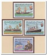 Mauritanië 1979 Imperf., Postfris MNH, Ships - Mauritanië (1960-...)