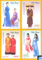 Vietnam Stamps 2012, Áo Dài Of Vietnamese Women, MNH - Vietnam