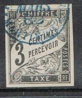 COLONIE GENERALE TAXE N°3  Oblitération De Martinique  TB - Postage Due