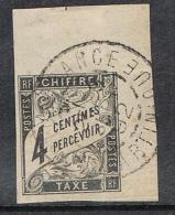 COLONIE GENERALE TAXE N°4  Oblitération De Fort-de-France Martinique  TB