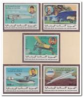 Mauritanië 1977 Imperf., Postfris MNH, Airplane - Mauritanië (1960-...)