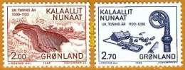 Groênland **LUXE 1982 P 126 Et 127 Paire - Unused Stamps