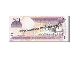 Dominican Republic, 50 Pesos Oro, 2003, KM:170s3, Undated, NEUF - Dominicaine