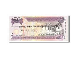 Dominican Republic, 50 Pesos Oro, 2006, KM:176s1, Undated, NEUF - Dominicaine
