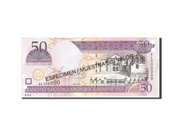 Dominican Republic, 50 Pesos Oro, 2002, KM:170s2, Undated, NEUF - Dominicaine