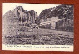 1 Cpa Hebuterne Une Rue - Weltkrieg 1914-18