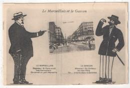 13 - MARSEILLE - Le Marseillais Et Le Gascon - La Cannebière - Canebière, Centre Ville