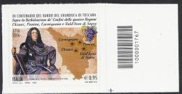 Italia 2016 Granduca Di Toscana Con Codice A Barre/ Italien 2016 Herzog Toscana Mit Strichkode - 2011-...: Nieuw/plakker