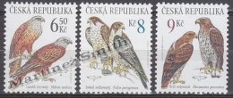 Czech Republic - Tcheque 2003 Yvert 341/ 43 - Nature Protection, Fauna, Raptors - Birds Of Pray - MNH - República Checa