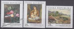 Czech Republic - Tcheque 2006 Yvert  448/ 50 - Works Of Art From The Prague National Gallery  - MNH - República Checa