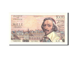 France, 1000 Francs, 1954, 1954-01-07, KM:134a, TTB+, Fayette:42.4 - 1871-1952 Circulated During XXth