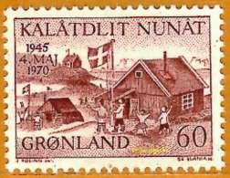 Groênland **LUXE 1970 P 64 - Grönland