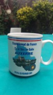 Tasse Mug Tir A L Arc Championnat De France Tir En Salle  Auxerre. 23 24 25 Fevrier 2001 - Tir à L'Arc