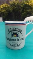 Tasse Mug Tir A L Arc Championnat De France Tir En Salle  Chartres 2 3 4 Mars 2012 - Tir à L'Arc