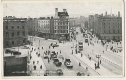 Westmoreland Street And O' Connell Bridge , Dublin  Tram  Buildind Irish Independant - Dublin