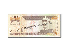 Dominican Republic, 20 Pesos Oro, 2002, KM:169s2, Undated, NEUF - Dominicaine