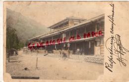 JAPON - ARASHIYAMA - KYOTO  TEA HOUSES - IRMA VERGES MODISTE PARIS - Kyoto