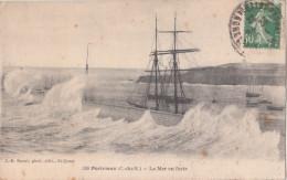 SAINT QUAY PORTRIEUX  ( 22 ) La Mer En Furie - Saint-Quay-Portrieux