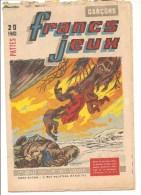 Francs Jeux Garçons N°195 Du 1er Juillet 1954 - Magazines Et Périodiques