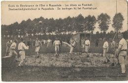 Ecole Bienfaisance De L' Etat Ruysselede Eleves Au Foot Ball  Stade Encadrement Militaire  19520 Edit Cesar Standaert - Ruiselede