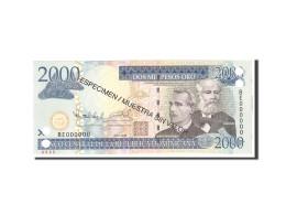 Dominican Republic, 2000 Pesos Oro, 2009, KM:181s2, Undated, NEUF - Dominicaine
