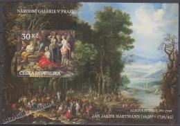 Czech Republic - Tcheque 2008 Yvert BF 31 - Works Of Arts On Stamps - Jan Jakub Hartmann - MNH - Czech Republic