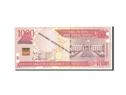 Dominican Republic, 1000 Pesos Dominicanos, 2011, KM:186s, Undated, NEUF - Dominicaine