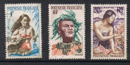 POLYNESIE N°3, 8 Et 11 - Polinesia Francese