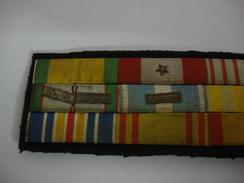 Barette Representant Les Décorations - 1939-45