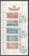 Sowjetunion 5671/75 Kleinbogven O - 1923-1991 USSR